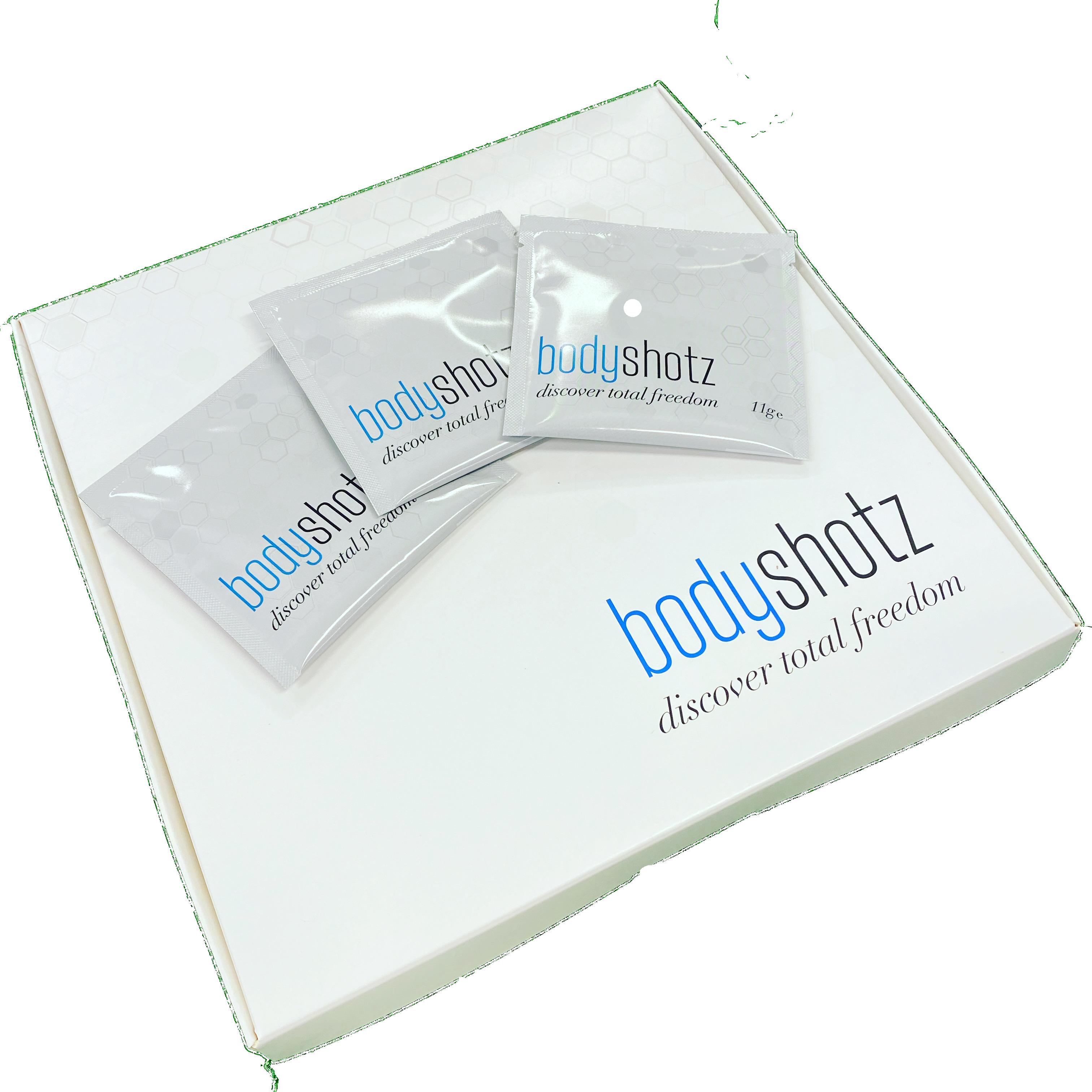 BodyShotz Box with 3 Sachets