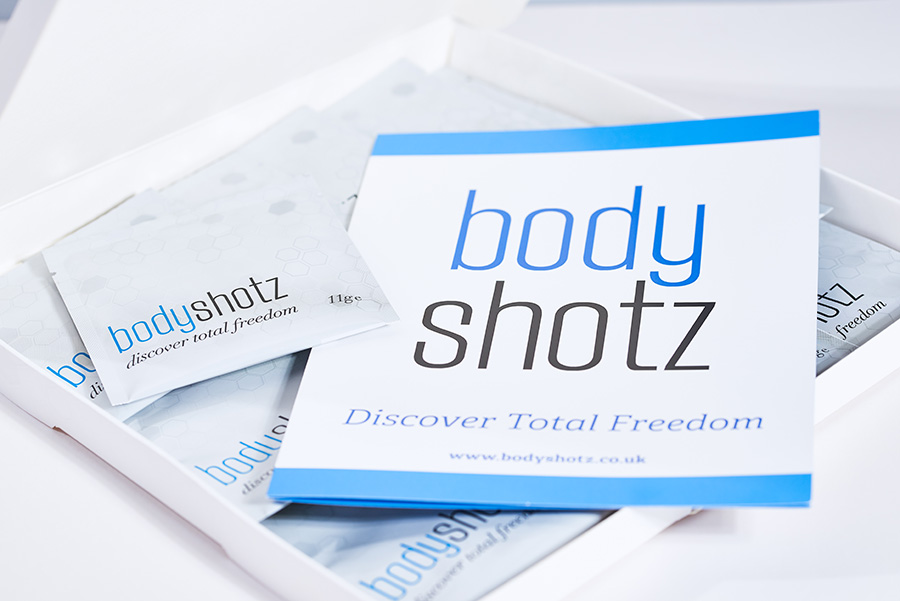 BodyShotz Packaging